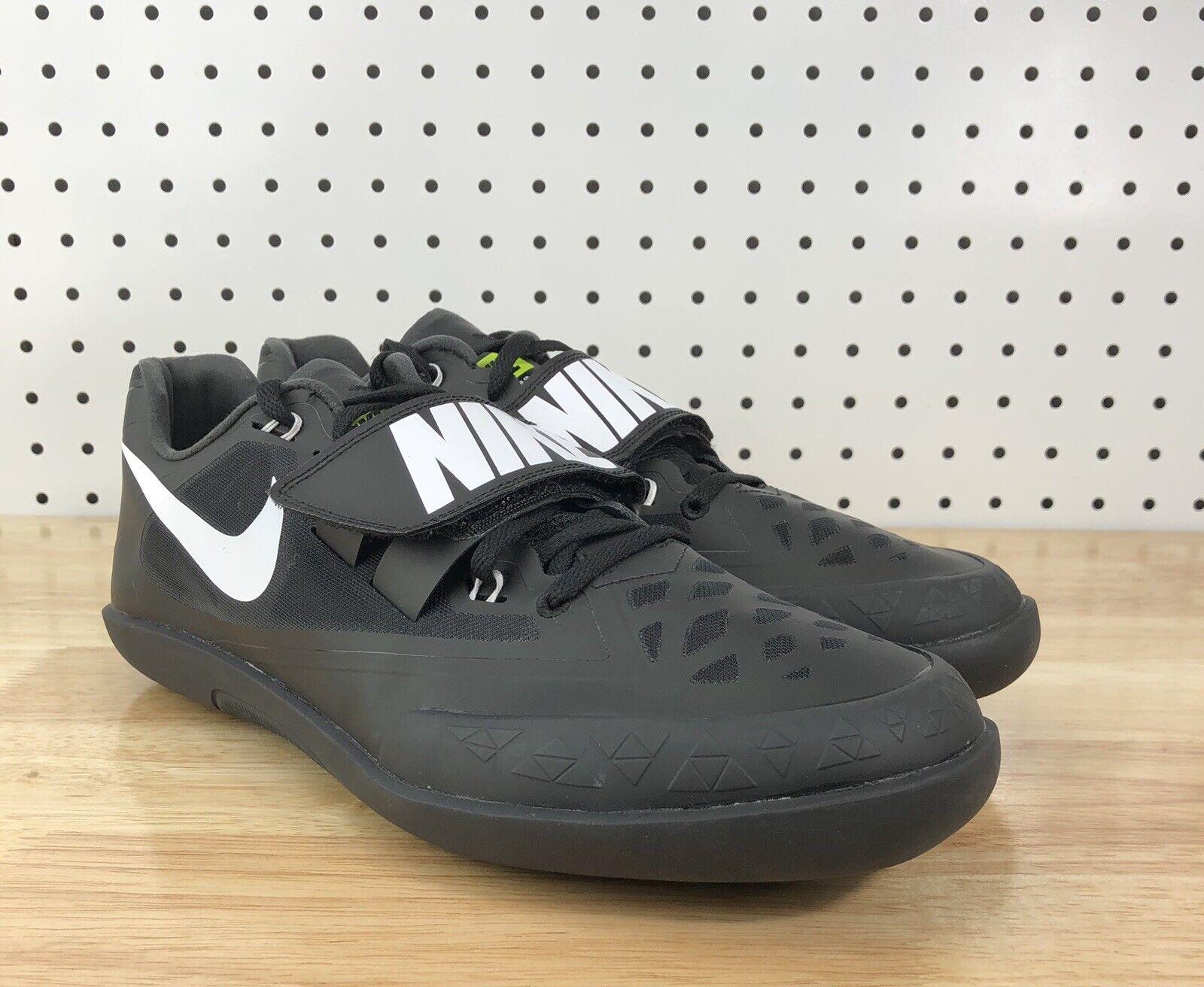Tamaño 14 NIKE Zoom Rival SD 4 Discus tiro Lanzar zapatos Negro 685135 017 Put