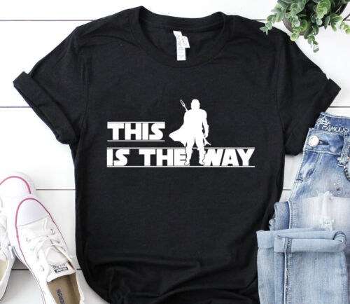 This is the way the mandalorian the child star wars t-shirt baby yoda t-shirt