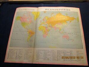 Electro-tutor De 1935 Véritable Carton Pour Jeu Jouets Mapajo Série Géographie