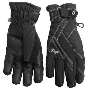 Women-039-s-Drop-Allure-2-Gore-Tex-Ski-Snowboard-Gloves-Black-Medium-M
