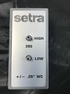 SETRA 265 Differential Pressure Transducer 2751-2R5WDACT1C New In Box