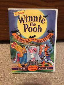 Disney Winnie The Pooh Frankenpooh And Spookable Pooh Halloween