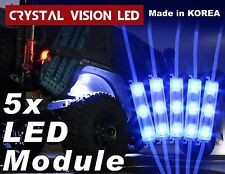 Crystal Vision LED 4X4/OFF ROAD/JEEP Under Body Rock Lights Bright Blue (5 PCS)