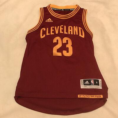 Lebron James #23 Cleveland Cavaliers Cavs Adidas Swingman Jersey Youth Medium   eBay