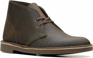 02e292d9 Details about Clarks Mens US 8.5 EU 44.5 Dark Brown Bushacre 2 Chukka Boot  Ankle Boots New