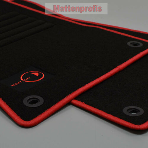 Coupe anno 2003-2005 ROSSO Tappetini professionisti in Velour tappetini per Smart 452 Roadster