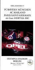 Masters 28.07.1997 Bayern München, AC Mailand, Paris Saint-Germain, Hertha BSC