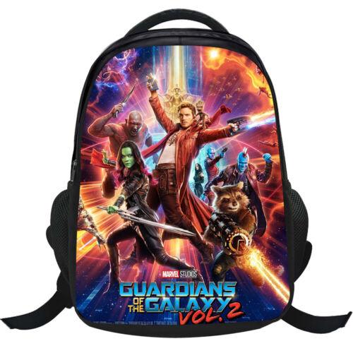 Guardians of the Galaxy Backpack Boys Cartoon School Bag Girl Shoulders Bag Gift