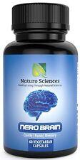 Brain Supplement Booster Nootropic (60 Capsules) For Clarity, Focus, Memory