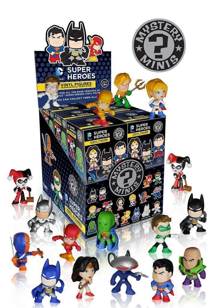 FUNKO DC Super Heroes Mystery Minis  - DC comics mini figures