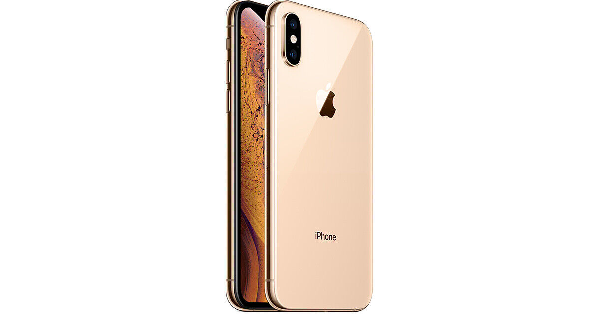 Apple iPhone XS 64GB Gold LTE Cellular AT&T MT8W2LL/A