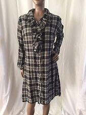 Nice women's junior's size M Medium Converse One Star flannel dress / nightgown