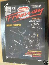 FREEWAY 03 TRIUMPH NEWS,WK SUPERBIKE ASSEN,MEAT LOAF,SILVER BULLET,FXR COUGAR,