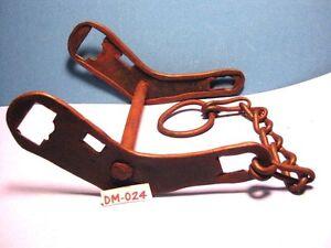 OLD WEIRD & UGLY Hand Made Farmer Type Horse Bit 1 Rein Chain CRUDE MAKE OFFER
