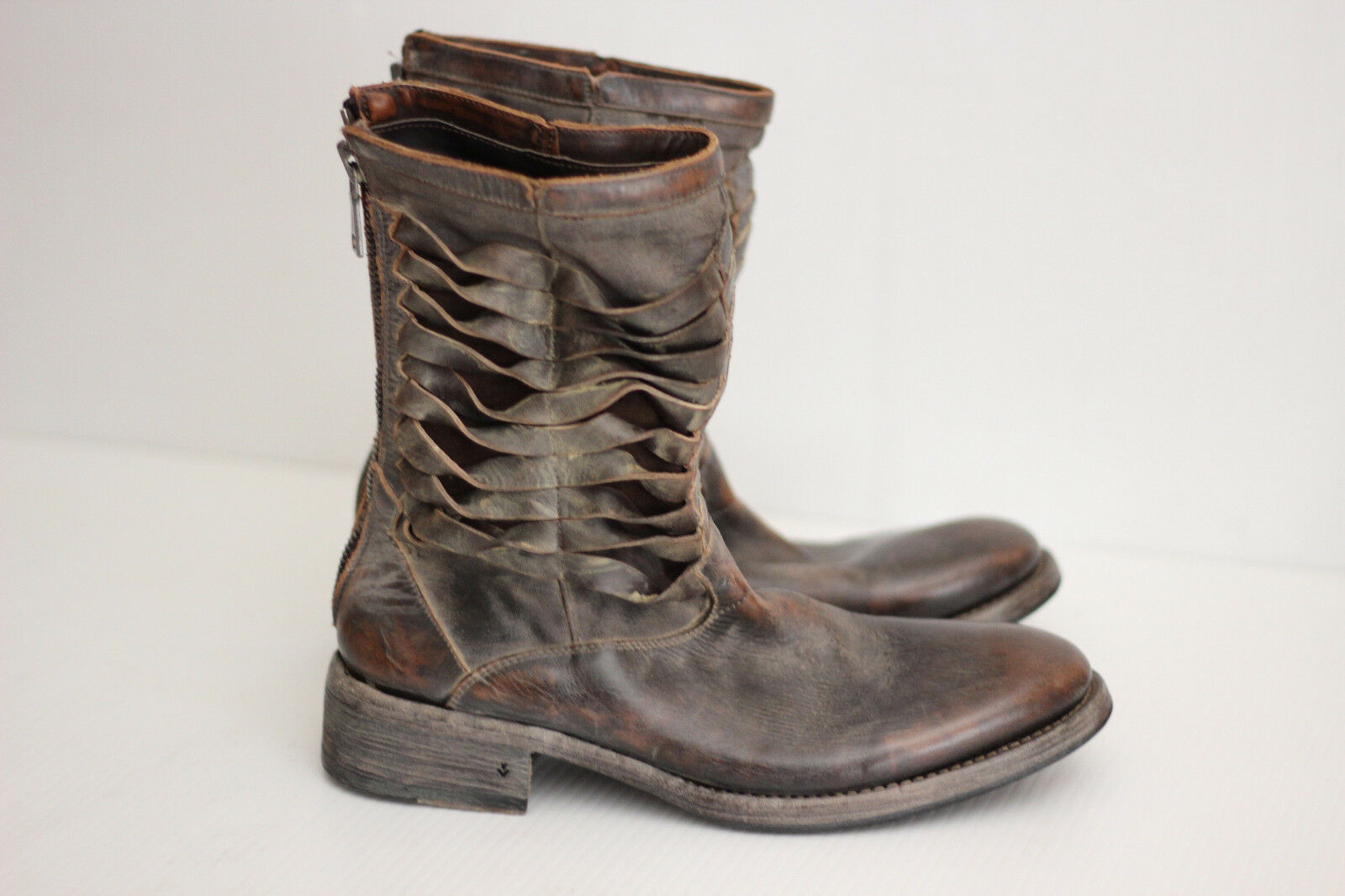 John Varvatos Collection 'Simmons Pavement Twisted' Zip Stivali - 8.5  1600