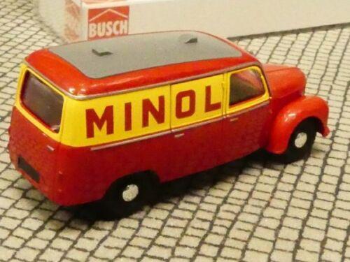 1//87 Busch FRAMO v901//2 CASSETTA Minol 51212