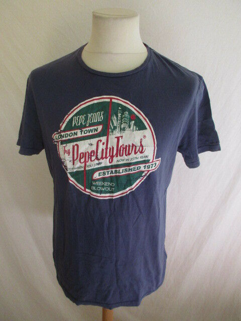 634d36cff T-shirt brand Pepe Jeans Size S to - 52% bluee nthzqj1641-T-Shirts ...