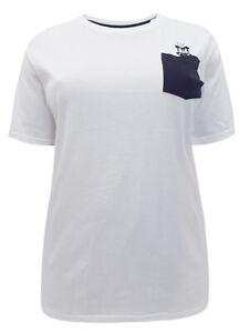 d3863c02ce678 DISNEY Mickey Mouse WHITE   BLACK Cotton T Shirt Top Tee Plus Size ...