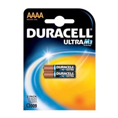 2x Duracell Ultra M3 Ultra AAAA Alcaline 1,5V