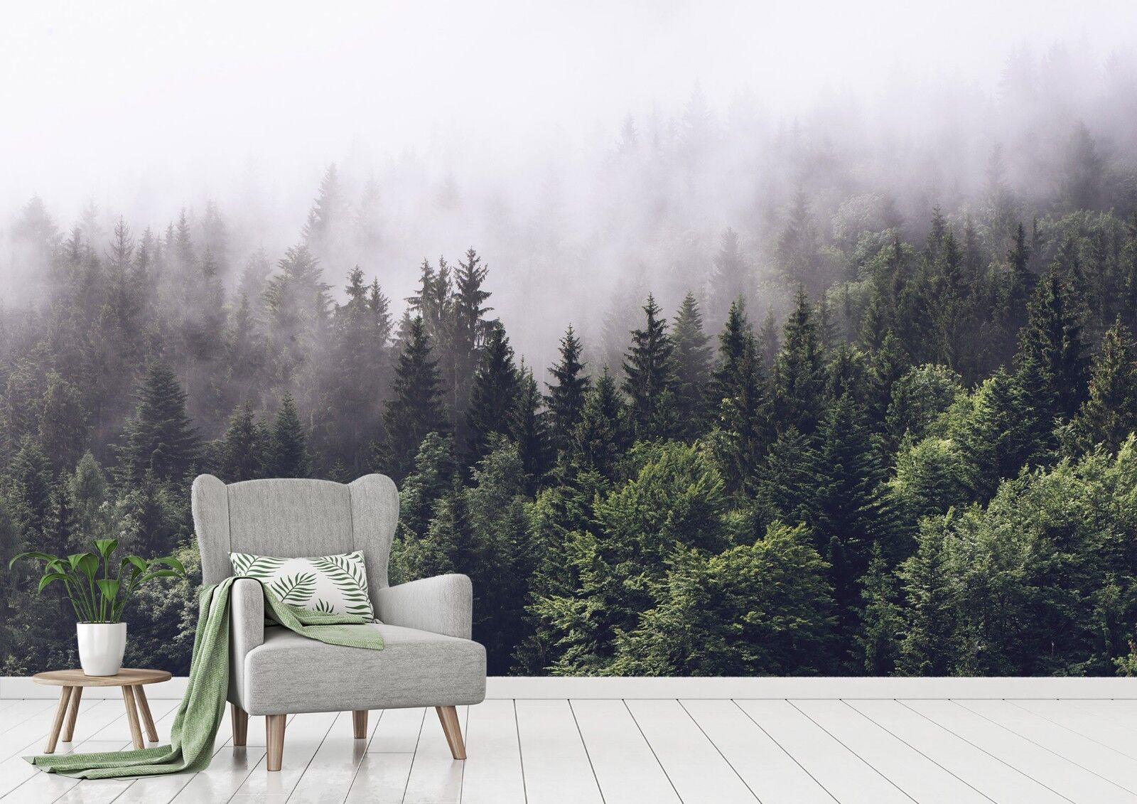 3D Grün Wälder 826 Tapete Wandgemälde Tapete Tapeten Bild Familie DE Lemon