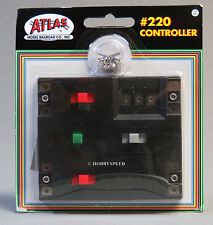 ATLAS HO CONTROLLER wire & control reverse loops wyes turntable ho track atl 220