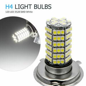 2X-H4-Bombillas-120-Hi-Lo-LED-Xenon-110W-26000Lm-Faro-Lampara-3528-SMD