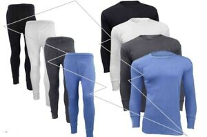 Men-039-s-Thermal-Long-Johns-Long-Sleeve-T-Shirts-Winter-Warm-Thermal-Underwear-Lot