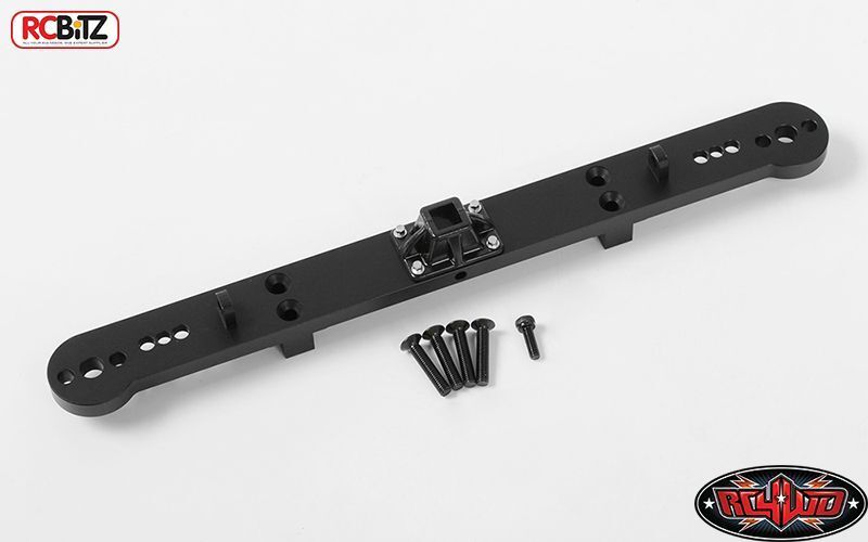 Tough Armor Rear Bumper w  Tow Hitch Mount G2 Cruiser FJ40 Z-S1626 METAL RC
