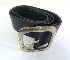 G-Star Raw Refresh Link Leather Belt Dark Brown Size 90 BNWT 100/% Authentic