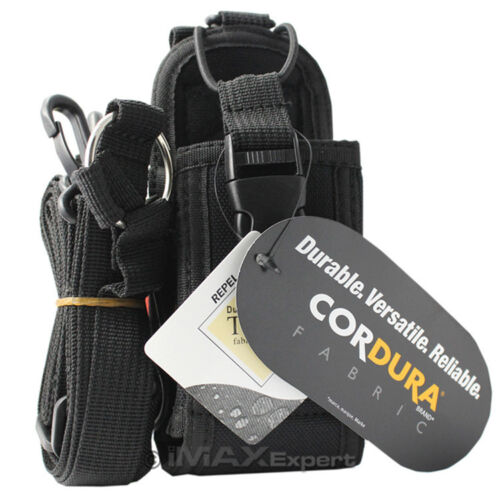 CORDURA NYLON Heavy Duty Carry Case for ICOM IC-V8 IC-V80 IC-U82 IC-A4 IC-T2H