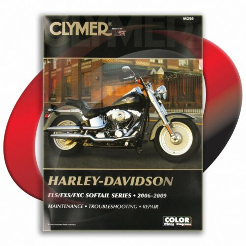 2008-2009 Harley Davidson FXCWC Softail Rocker Custom Repair Manual Clymer M250