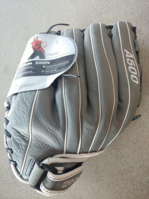 "Wilson Siren A500 12.5"" Right Hand Throw Baseball Glove"