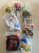 Lot Of 8 Fast Food Promotional Toys NIP