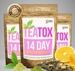 Details About Colon Cleanse Fat Burn 14 Day Skinny Tea Weight Loss Tea Slimming Tea Detox Tea