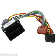 CT20FD07 FORD FUSION 2005 ONWARDS QUADLOCK FAKRA ISO HARNESS ADAPTER LEAD CAR