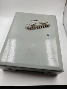 grosser-Schaltkasten-aus-Metall-DDR-Vintage-Loft