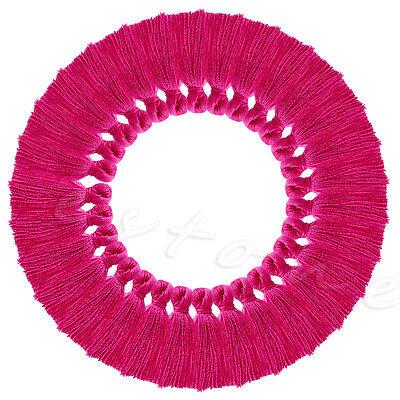 30Pcs 25mm Handmade Silky Tassels Decoration Pendant Key Chains Bag Accessories