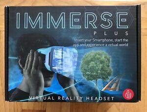 219f19111149 NEW NIB Thumbs Up Immerse Plus Virtual Reality Headset Thumbsup ...