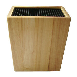 Knife-Block-Wood-knife-Block-Black-Knife-Block-Storage-Holds-20-Rectangle