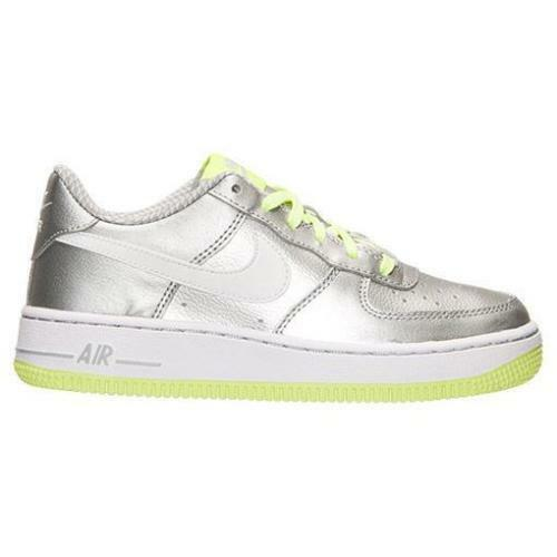 02875d65a0519 NIKE AIR FORCE 1 G 314219 012 KIDS SHOES SILVER WOLF GRAY VOLT CHOOSE YOUR  SIZE