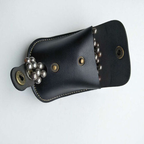Hot Catapult Slingshot Steel Ball Case Leather Wallet Waist Bag Pouch Outdoor