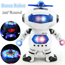 Xmas Children Dancing Robot Toy Educational Toys For 4 5 6 7 Year Olds Boy Gifts
