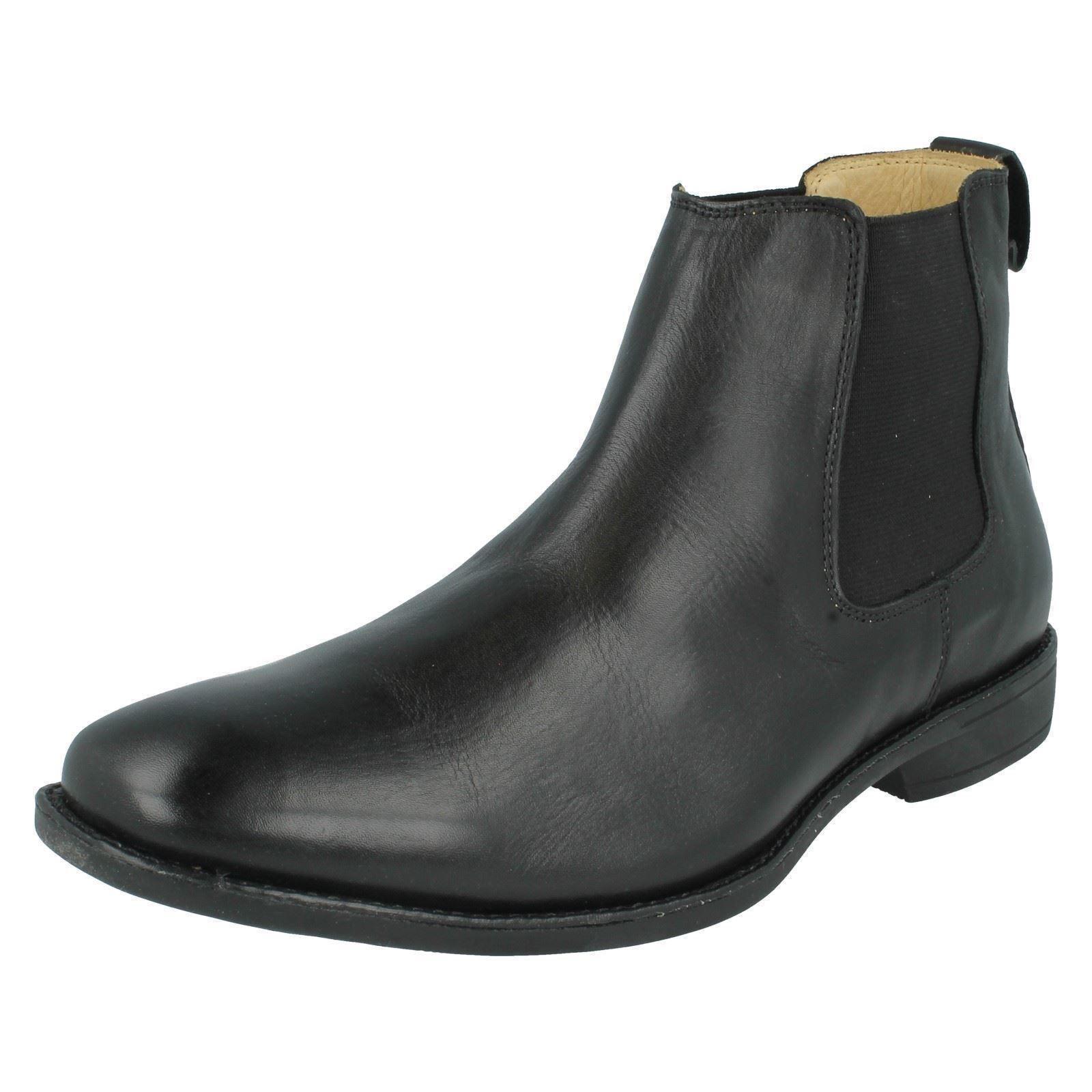 Anatomic & Co 421482.5kg Herren Schwarz Smart Chelsea-Stiefel aus Leder    | Lass unsere Waren in die Welt gehen