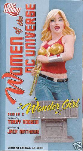 SCULPTURE  WONDER GIRL (buste) women of DC Terry Dodson