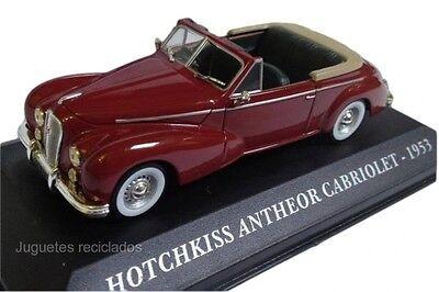 1/43 HOTCHKISS ANTHEOR CABRIOLET coche metal escala model car IXO ALTAYA