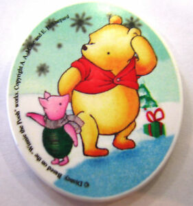 Winnie-the-Pooh-amp-Piglet-Fridge-Magnet-Great-party-bag-toys