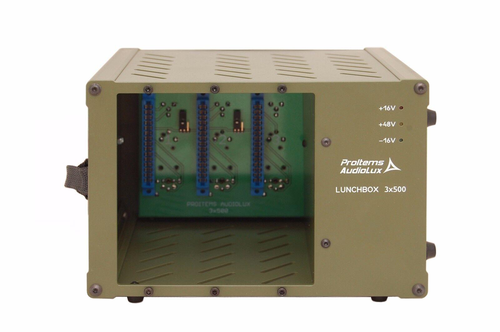 ProItems Audiolux 3X500 Lunchbox schwarz Handle