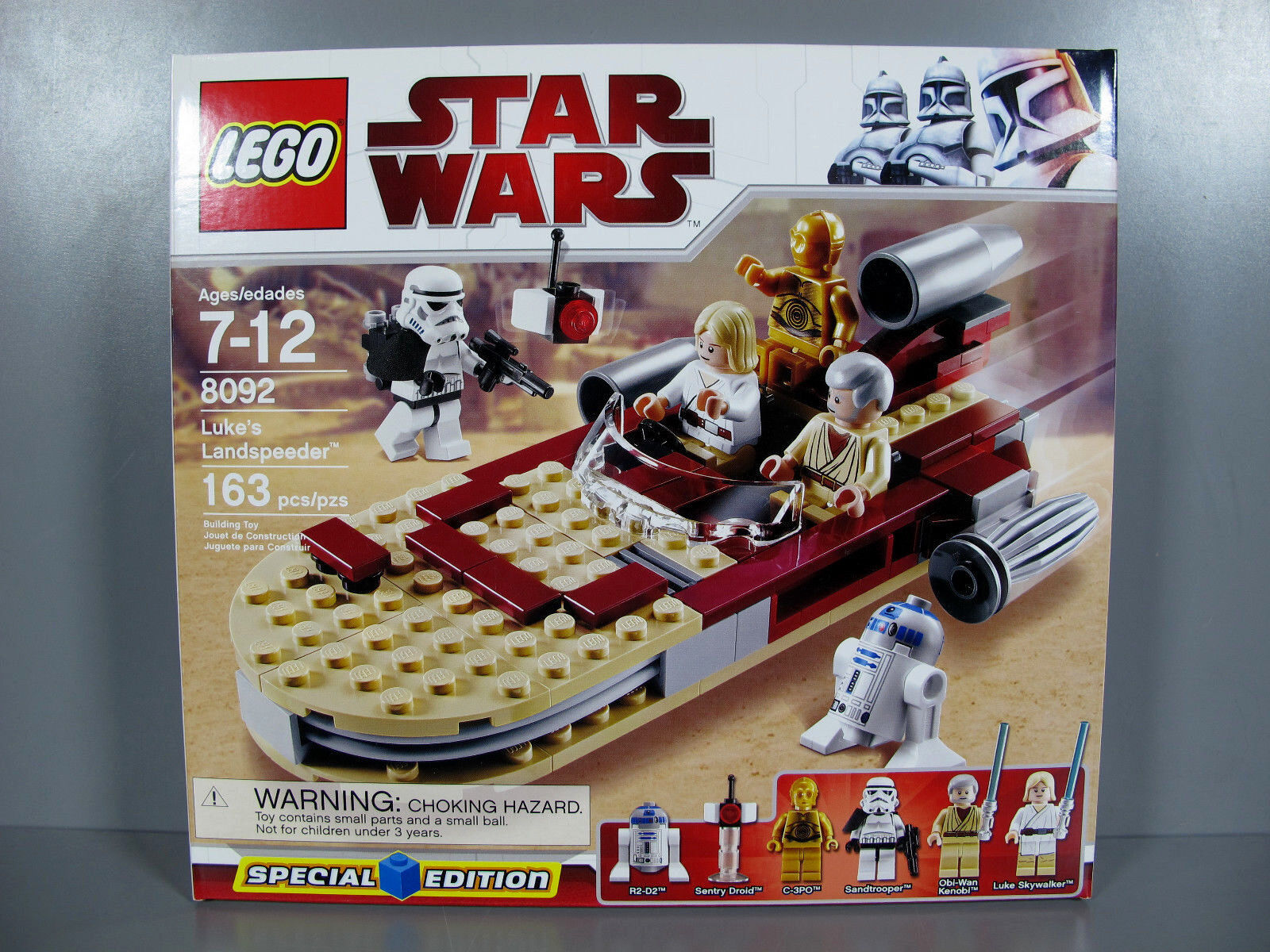 NEW Sealed Lego STAR WARS Special Edition Luke's Landspeeder RETIRED