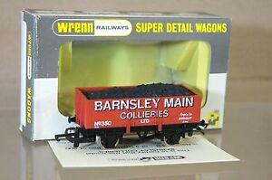 Wrenn W5500 Marron Rouge Barnsley Principal Collieries 5 Planche Wagon 350