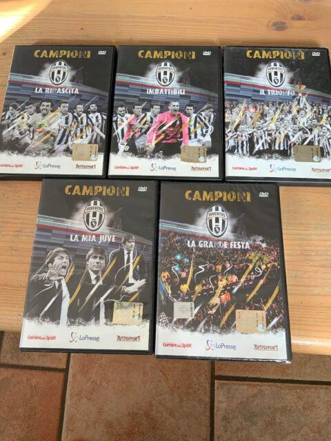 Juventus. Opera Completa 5 DVD Della Juve Campione  (2012) RARISSIMO